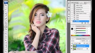 Tips Edit Photoshop. Foto Model