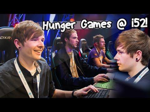 HUNGER GAMES LIVE w/ DanTDM, Syndicate, Ali-A & Fans | i52 Vlog