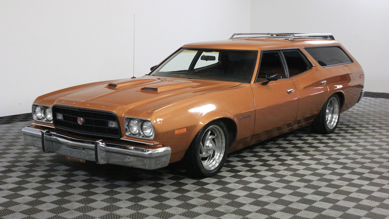 1973 ford gran torino wagon youtube. Black Bedroom Furniture Sets. Home Design Ideas