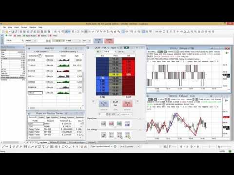 MultiCharts | adding the VIX Futures Contract