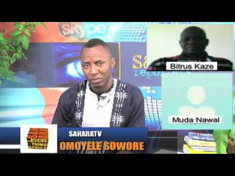 Hon  Bitrus Kaze & Muda Nawal on SaharaTV