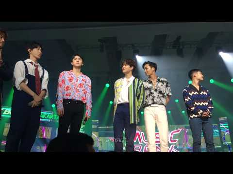 170902 NCT 127 & EXO Music Bank in Jakarta Opening Stage