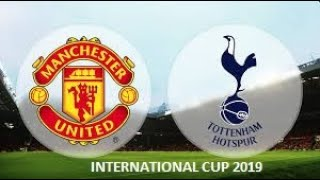 MARTIAL!! MOURA!! MANCHESTER UNITED VS SPURS HIGHLIGHTS 25/7/2019