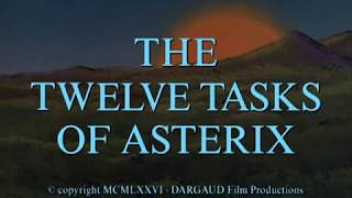 asterix the twelve tasks of asterix 1975 dvdrip xvid