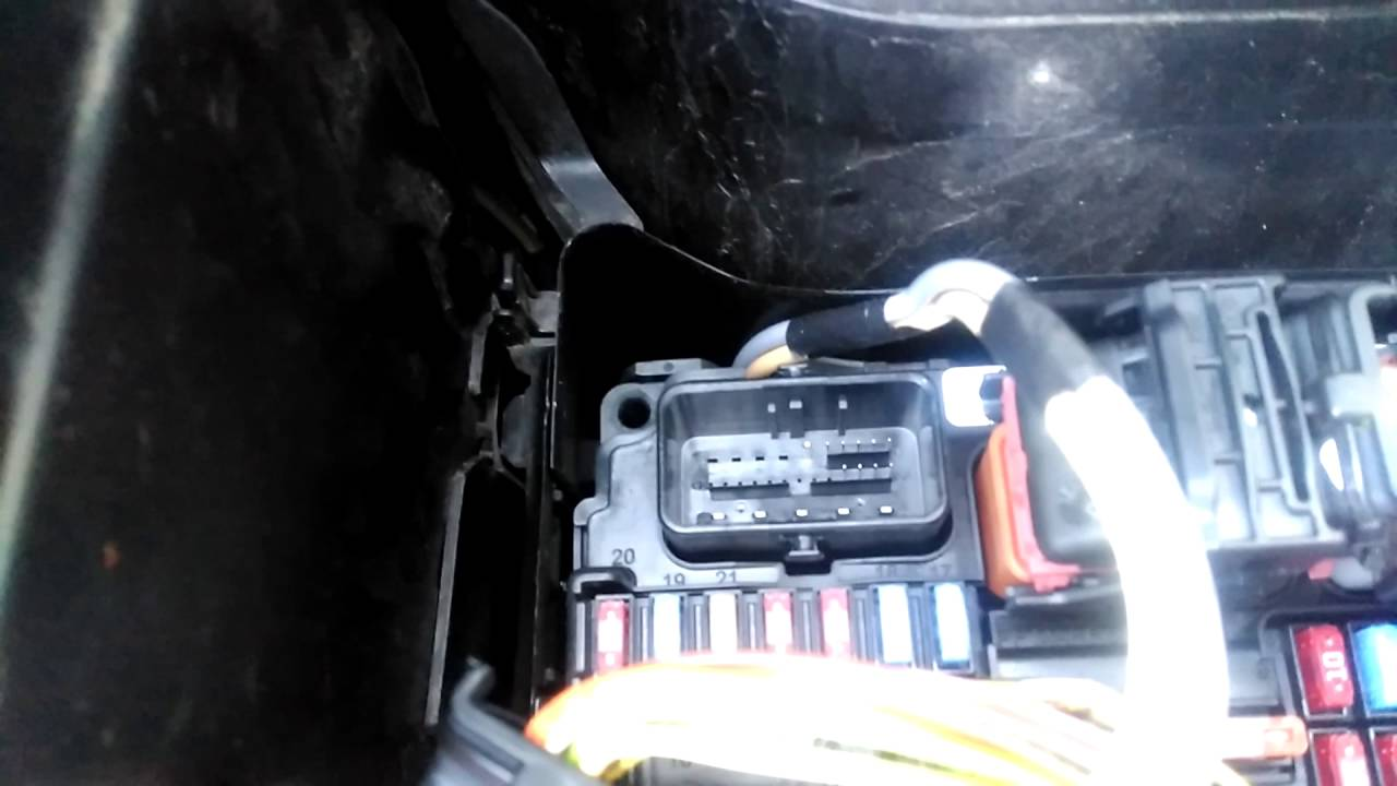 Electric Brake Wiring Diagram Cat 5 Australia Peugeot 207 System Faulty/power Steering Faulty/abs Faulty - Youtube