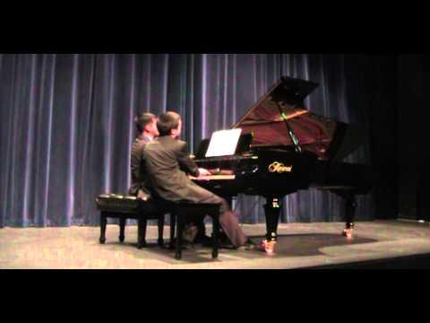 Salvosa-Meek duo performs Piazzolla's Histoire du Tango (Arr. Kyoko Yamamoto)