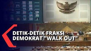 Detik-detik Fraksi Demokrat Walk Out di Sidang Pengesahan RUU Cipta Kerja DPR