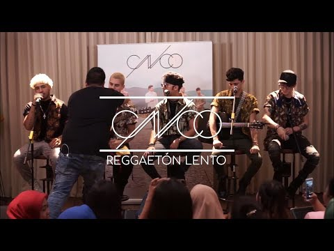 CNCO - Reggaetón Lento (Bailemos) (Live From Jakarta 2018)