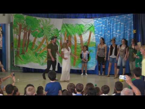 Peter Pan - Spettacolo dei genitori - sez. A scuola Mozart - 31/05/2016