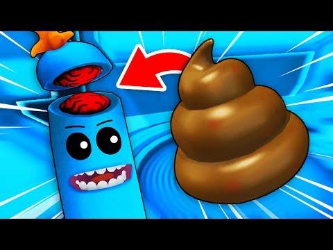 Meeseeks + Poopy = PICKLE MEESEEKS? (Rick and Morty: Virtual Rick-ality Gameplay)