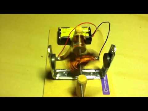 Generador el ctrico casero funnycat tv - Mini generador electrico ...