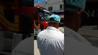 Motorista invade calçadão de Lages e atropela várias pessoas
