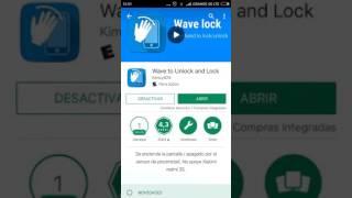 encender o apagar pantalla android sin usar boton de encendido con wave lock (sensor de proximidad)