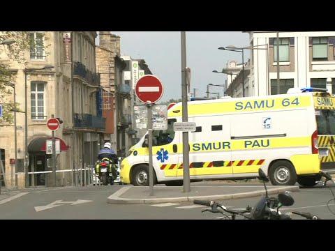 AFP: Coronavirus: Transfert d'un patient du Grand-Est vers un hôpital de Nouvelle-Aquitaine | AFP Images
