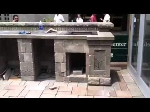 Get An Inside Look As Belgard Hardscapes Builds The House Beautiful 2011 Kitchen Of The Year