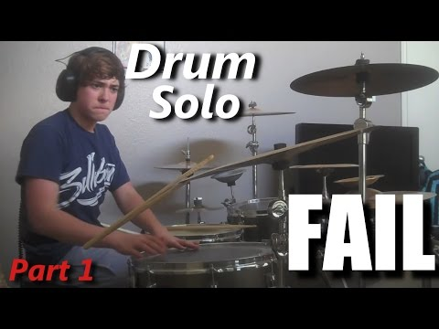 Drum Solo FAIL  ( Part 1 ) ┃RockStar FAIL