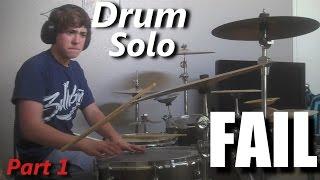Drum Solo FAIL  ( Part 1 ) ┃RockStar FAIL