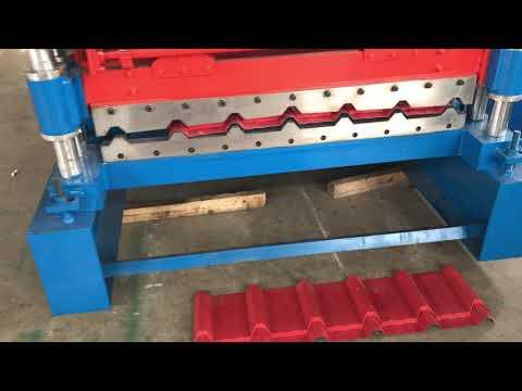 Corrugated Roll Forming Machine , Rib Sheet Making Machine, Roof Sheet Forming Machine