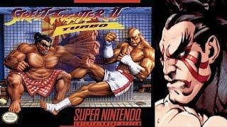 Street Fighter II Turbo - Hyper Fighting - E. Honda (SNES)