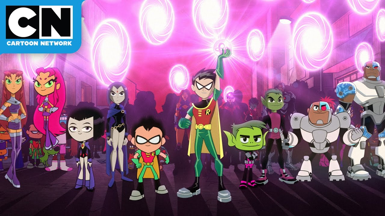 Download Every Teen Titans Multiverse   Teen Titans GO! vs Teen Titans Movie   Cartoon Network