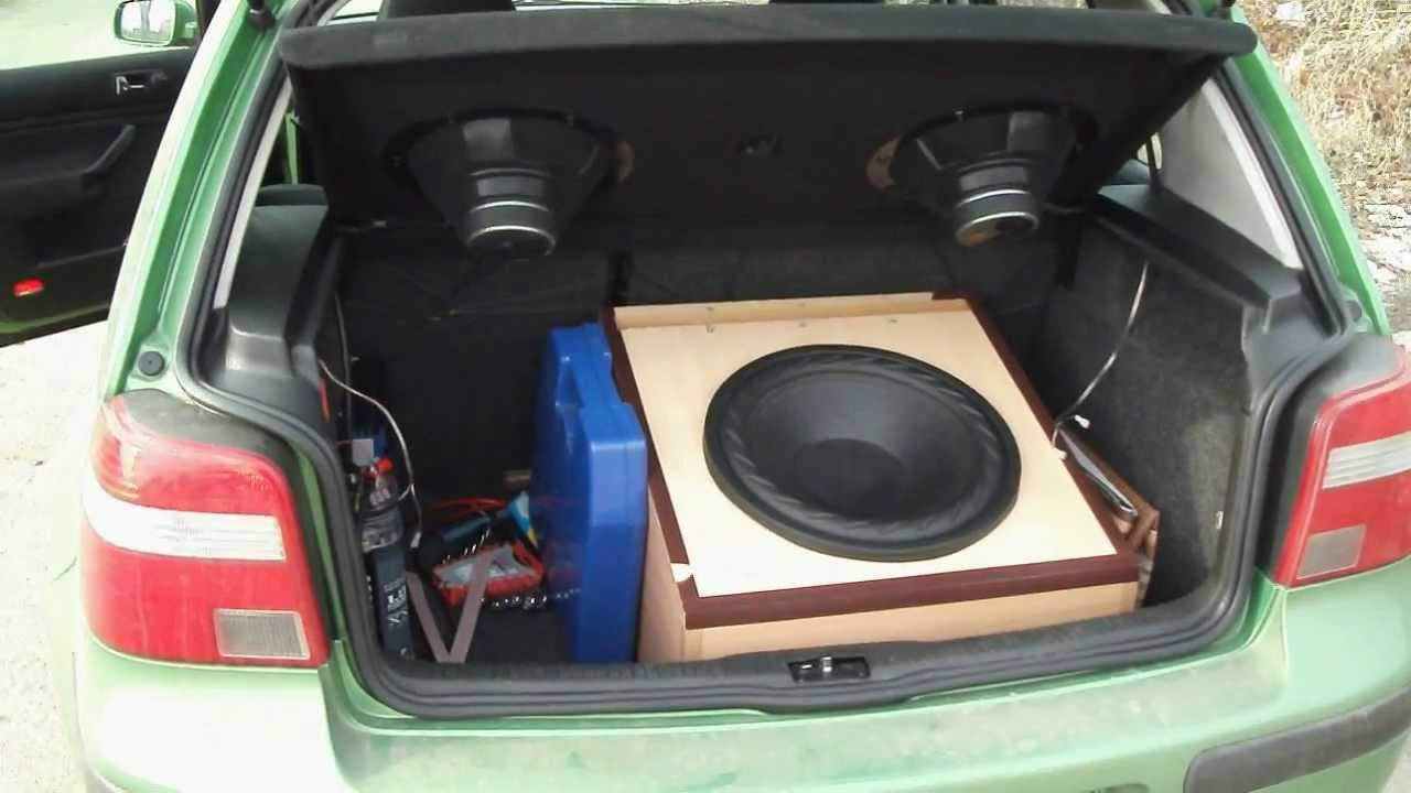 my car audio project in golf 4 youtube. Black Bedroom Furniture Sets. Home Design Ideas