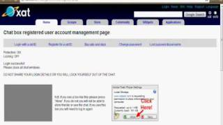 Repeat youtube video How to get unbanned from xat