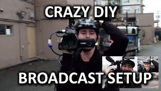 DIY Live Reporting Backpack