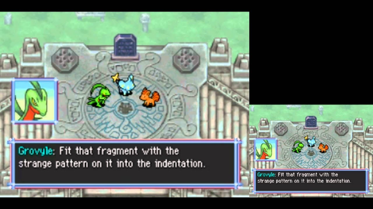 TAP (DS) Pokémon Mystery Dungeon