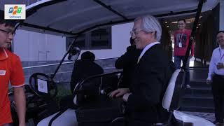 FPT 'khoe' xe tự hành với lãnh đạo Bộ nội vụ Nhật Bản