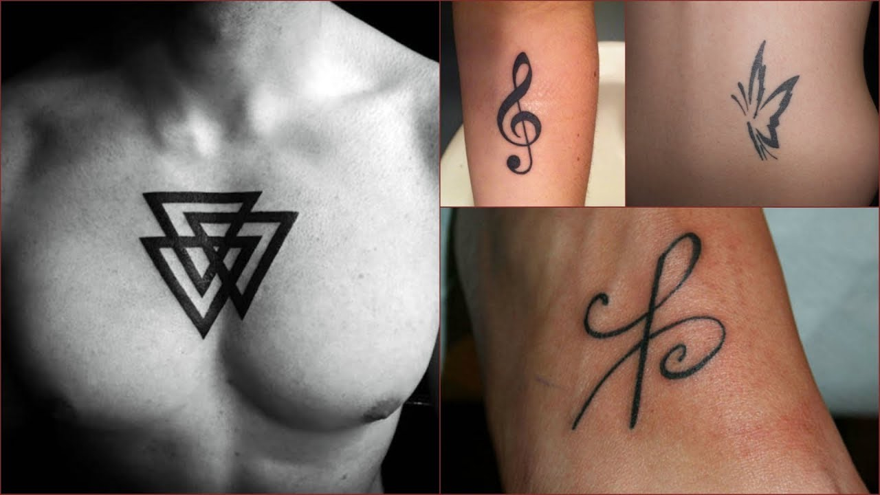 Small Easy Sketched Tattoos Wonderful Tattoo Designs For Girls