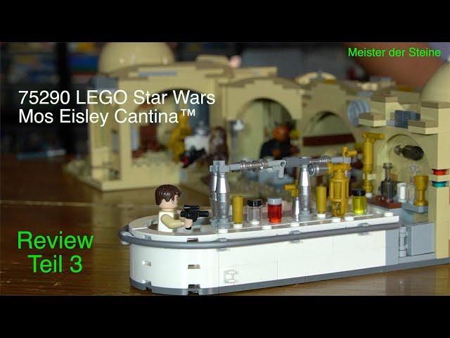 Mos Eisley Cantina™, LEGO 75290, Meister der Steine, Review