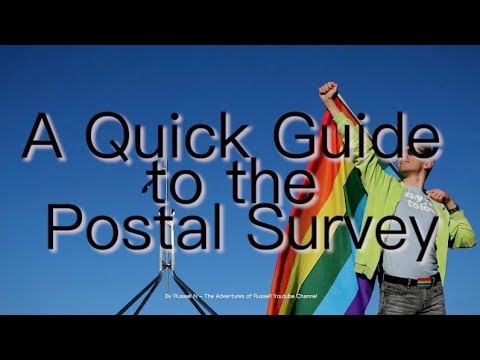 A Quick Guide to the Postal Survey on Same-Sex Marriage