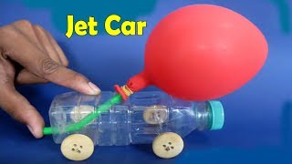 Como Hacer Un Carro o Coche Casero Propulsado Por Aire JUGUETES CASEROS   TOYS