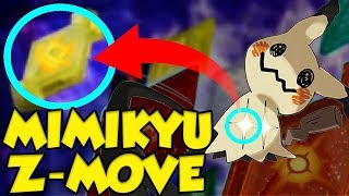 EXCLUSIVE MIMIKYU Z-CRYSTAL LEAK!