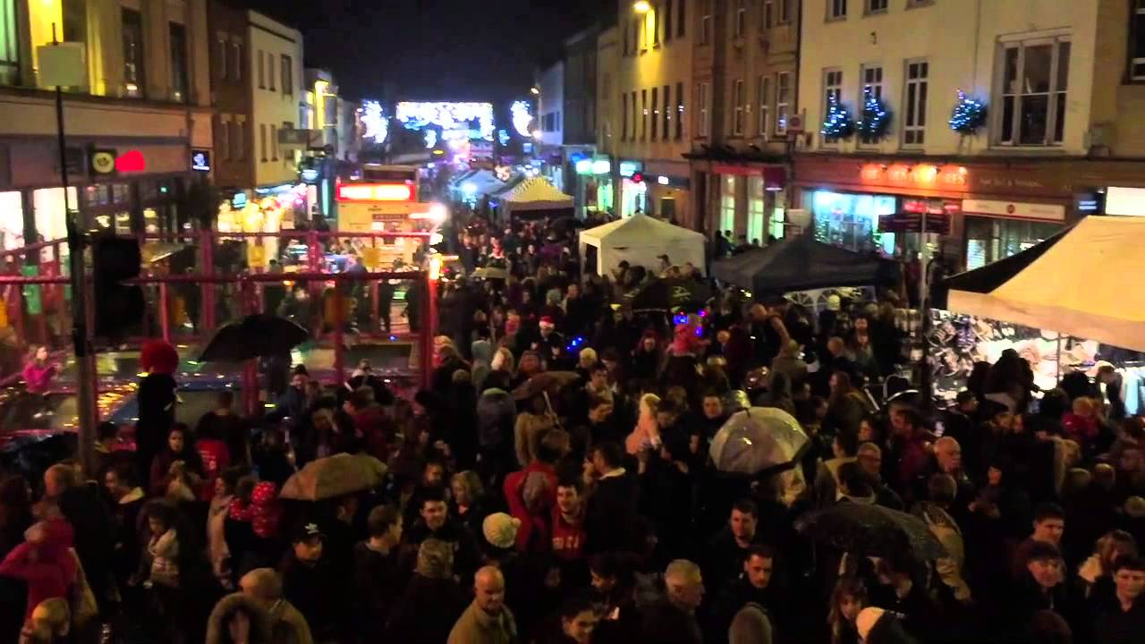 Taunton Christmas Lights Switch On 2017