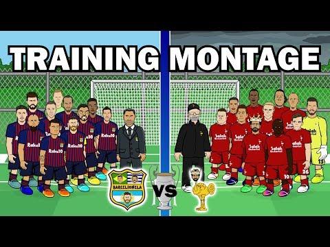 🏆Barcelona vs Liverpool: TRAINING MONTAGE🏆 (Champions League 2019 Semi-Final Preview)