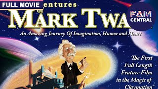 The Adventures Of Mark Twain (1985) | Full Claymation Adventure Movie