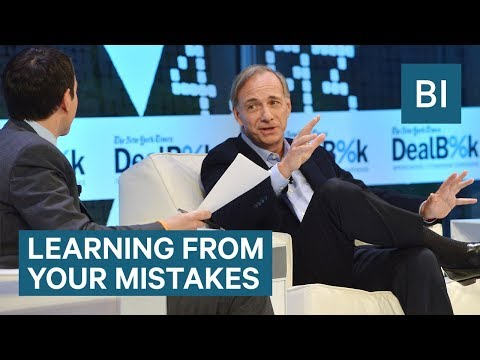 Ray Dalio explains the importance of learning from your mistakes
