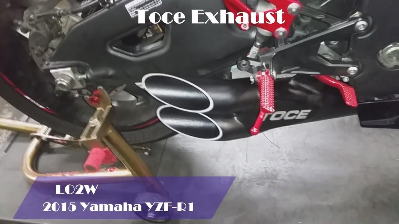 top 8 full exhaust sound yamaha yzf r1 akrapovic toce yoshimura arrow sc project