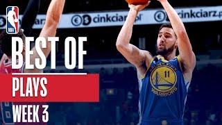 NBA's Best Plays | Week 3