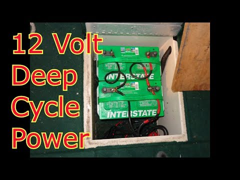 Boat Modification - Expanding Deep Cycle Battery Power