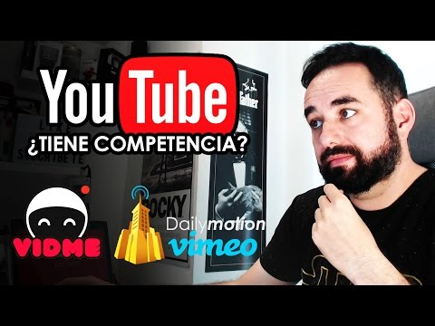YouTube ¿Tiene Competencia? Vidme Facebook Instagram Amazon