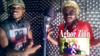 agbor zion ft liti ddog handz up studio session