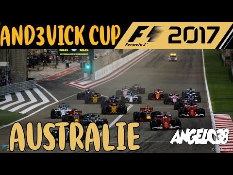 F1 2017 - ANDEVICK CUP - MANCHE 3 - AUSTRALIE