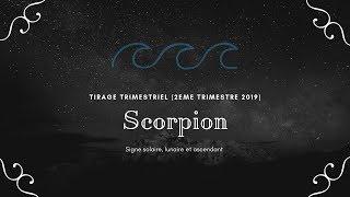 tirage trimestriel, 2eme trimestre des signes solaires, lunaires et ascendants en scorpion.