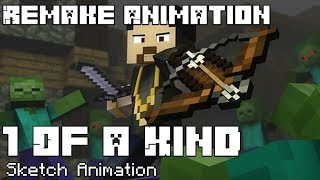 1 Of A Kind Minecraft Music Video Remake