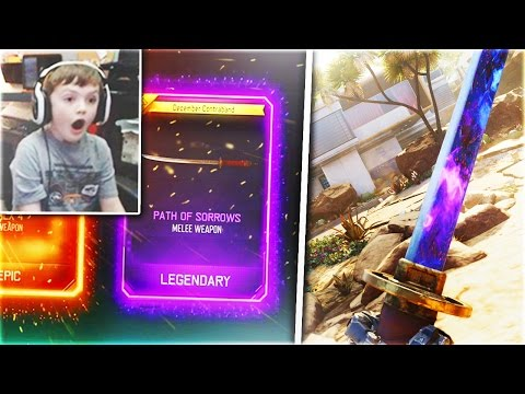 I FINALLY GOT IT! (Black Ops 3 DLC MELEE WEAPON Reaction)