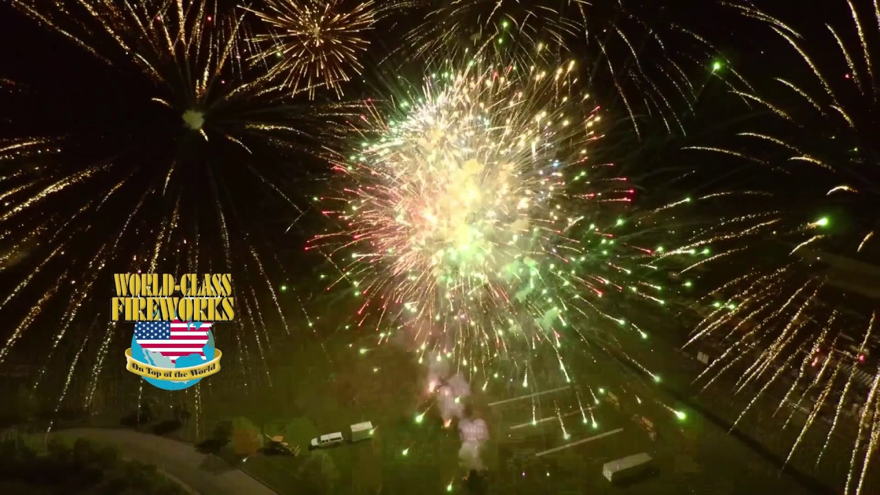 Drone Fireworks Video World Class Shoot Off 2017 - YouTube