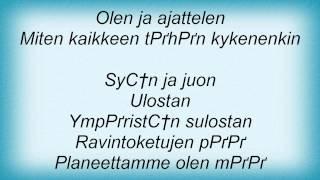Eppu Normaali - Olen Ihminen Lyrics