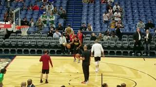 Isaiah Thomas VS Derrick Rose Shootaround
